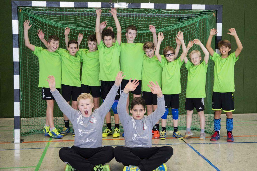 Unsere Handballer sind Stadtmeister